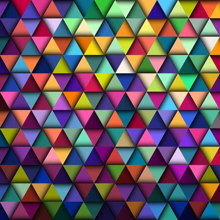 cuboid: Colorful Geometric Pattern, vector eps10 illustration