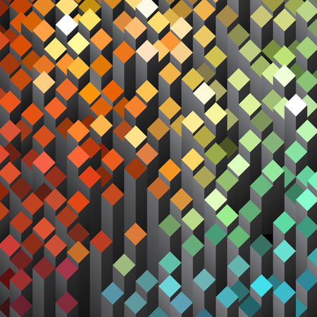 cuboid: Geometric abstract background Illustration