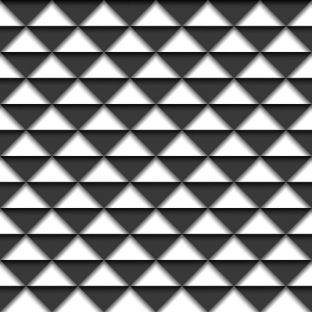 ashlar: Black and white geometric background.  Illustration