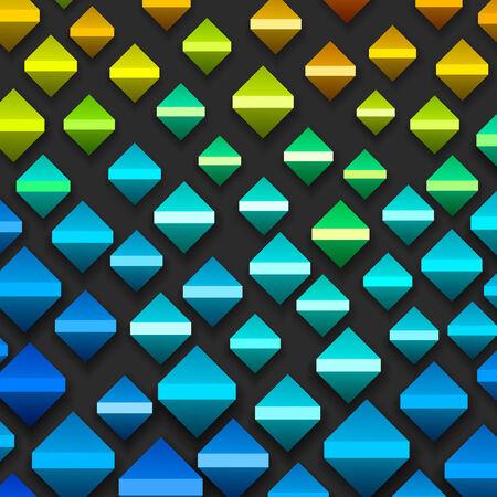 cuboid: Colorful Geometric Background Illustration