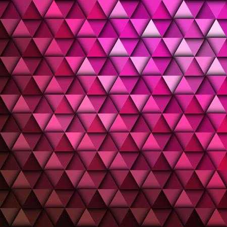 ashlar: Red Geometric Pattern
