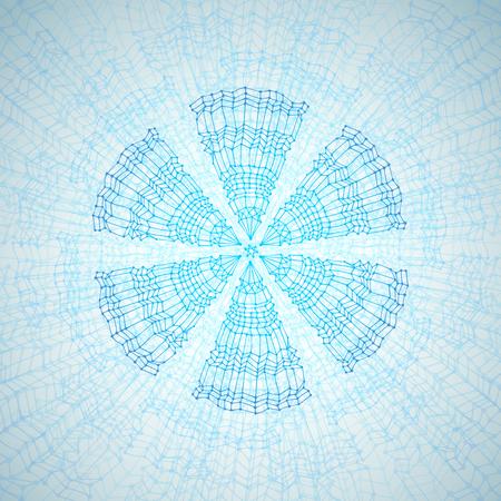 Hand drawn winter background, vector illustration Vector