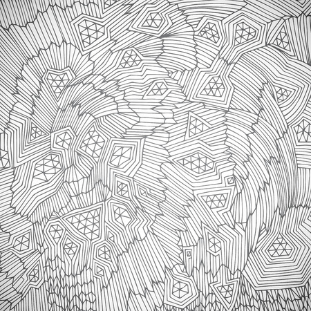 cuboid: Original hand drawn abstract background.