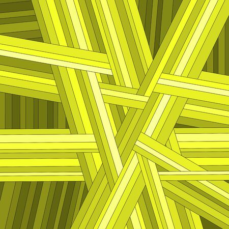 Yellow striped abstract background, vector eps10 illustration Vector