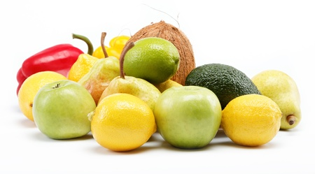fruits isolated on a white background. Stock Photo - 15050569