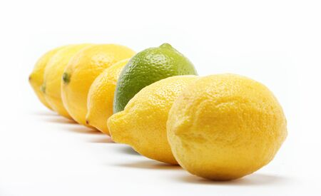 tropical fruits isolated on a white background. Stock Photo - 15050429