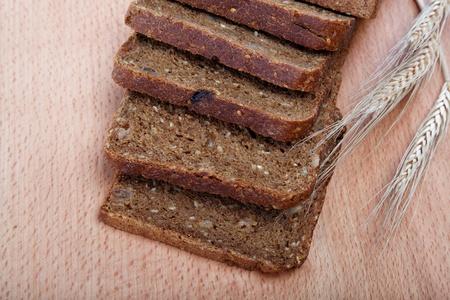 Fresh bread isolated. Stock Photo - 15161150