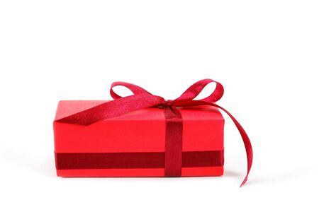 Gift pack isolated on a white background. Stock Photo - 16426717
