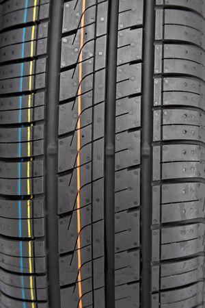 rodamiento: Pise neumáticos de coche como el fondo.