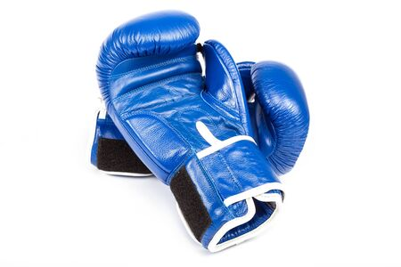 boxing equipment: Boxing gloves isolated on a white background.