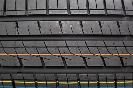 tread: Tread car tires as the background.
