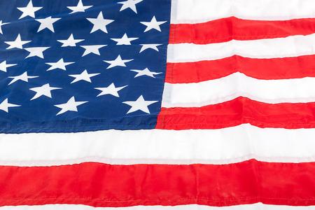 backdrop: American flag as a backdrop.