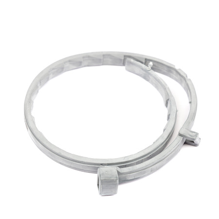 lice: Collar for dogs and cats from fleas, lice and ticks isolated on white background. Therapeutic and prophylactic collar for pets.