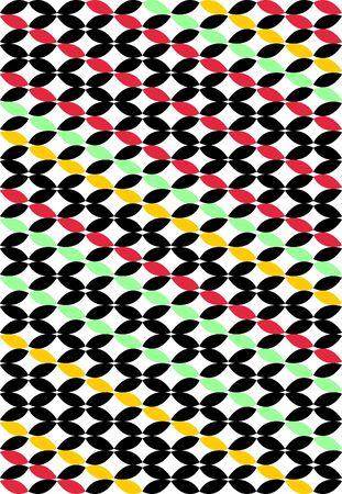 asymmetrical: Seamless vector background with asymmetrical design Illustration