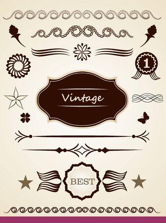 page decoration: Pagina decoratie Stock Illustratie