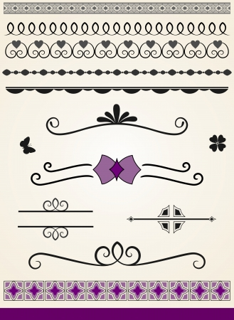 Text decorations and dividers