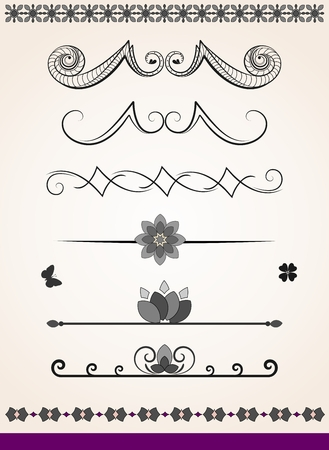 Dividers-decorations Vector