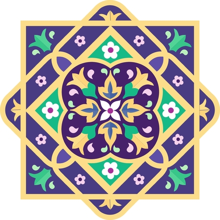 Ornamental pattern or background