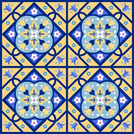 Ornamental seamless pattern Illustration