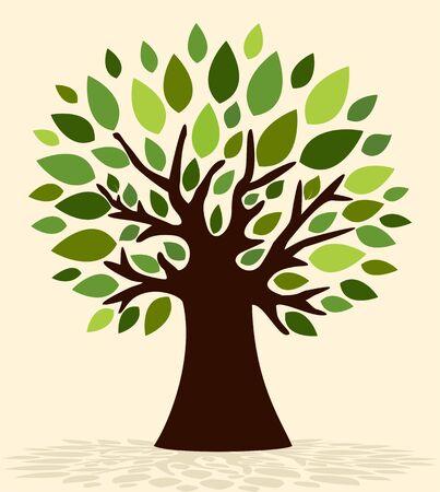 Spring tree Illustration