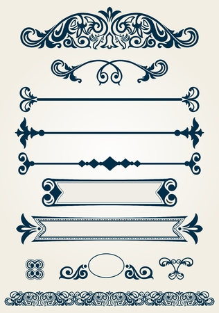 separator: Page dividers and decorations