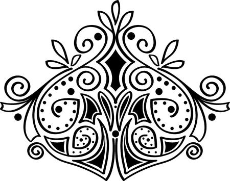 Ornamental decoration Illustration