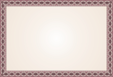 Floral pattern, empty frame for text or picture