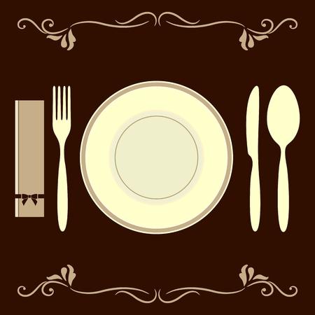 Decorative table set
