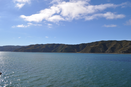 Beautiful landscape of Marlborough Sounds, New Zealand