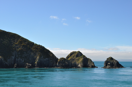 marlborough: Beautiful landscape of Marlborough Sounds, New Zealand