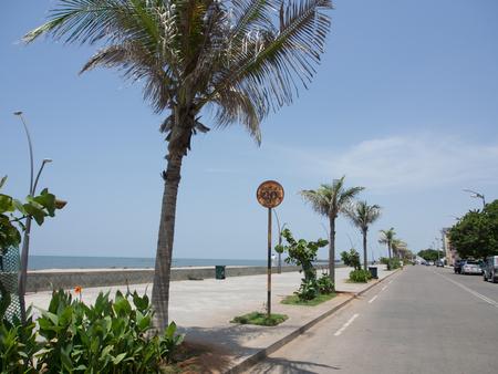 Pondicherry Beach 版權商用圖片