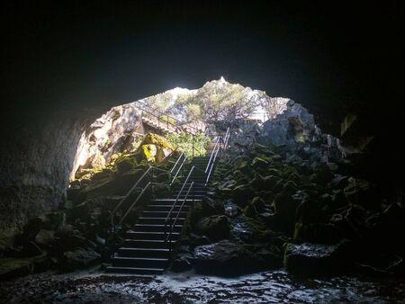 Lava River Caves in Oregon, United States