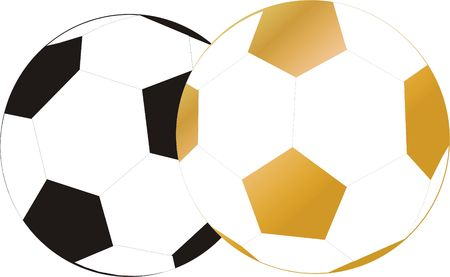 ball socer play game, isolated vector graphic photo