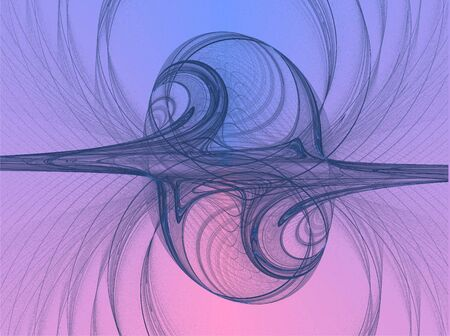 deviation: fractal with abstract ornament in deviation