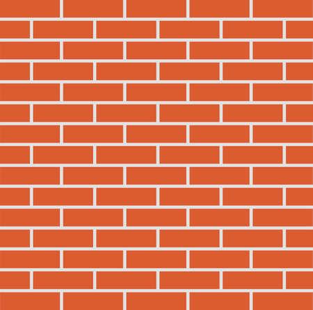 Flat icon brick wall. Vector illustration. Ilustracja