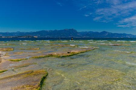 Holiday and Italian summer feeling along Lake Garda - Italy / Europe