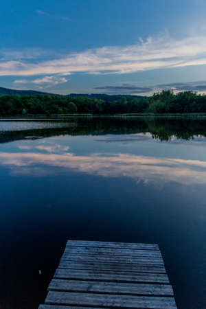 Summer exploring tour along the beautiful Werra Valley. - Breitungen / lake view