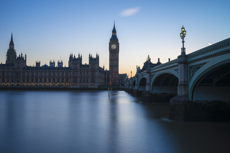 commons: Westminster, the British parliament, and Westminster bridge captured from the South Bank Editorial