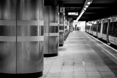 A shot taken at Dalston Junction station.