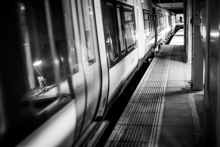 A shot taken at the underground station at Whitechapel.