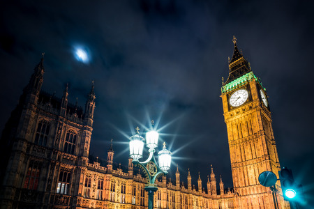 A photo of Big Ben and parliament in Westminster.