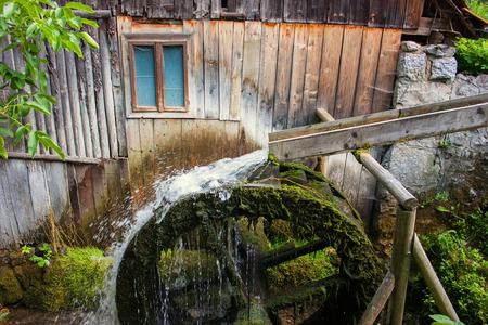 watermill: Old watermill in Transylvania