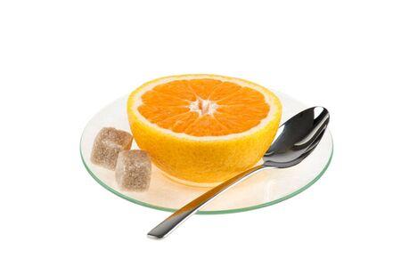 cup of orange photo