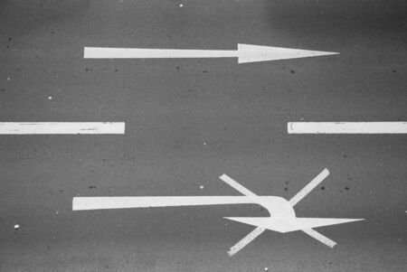 traffic sign one the street of duisburg, germany photo