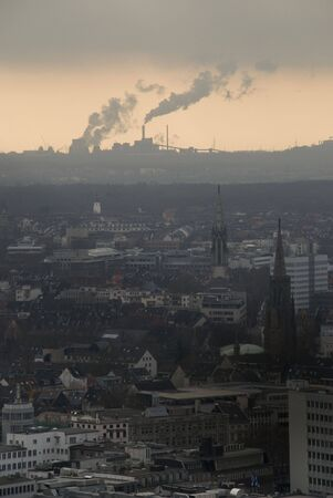 Cologne smog Stock Photo - 3243922