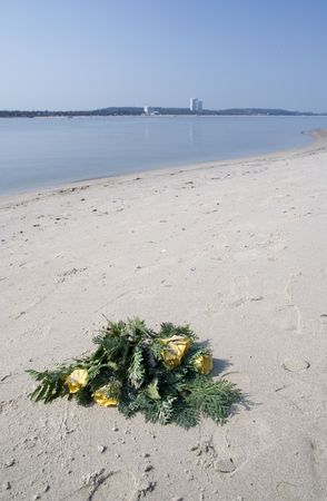 funeral at the sea photo