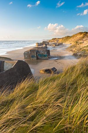 bunker: German bunker at the coast