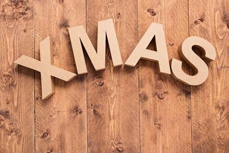 X MAS - christmas card Stock Photo