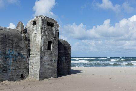 German bunker in denmark - North Jutland
