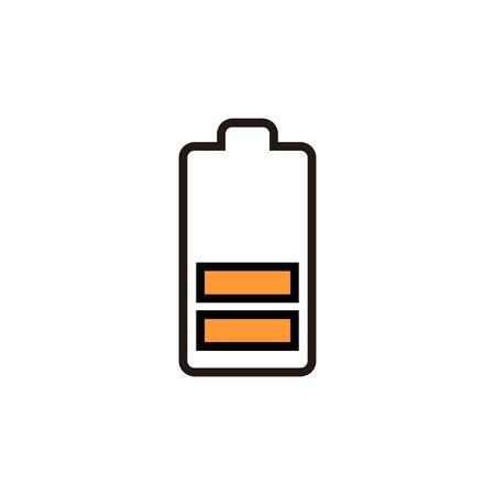 battery icon isolated on white background. Battery vector icon